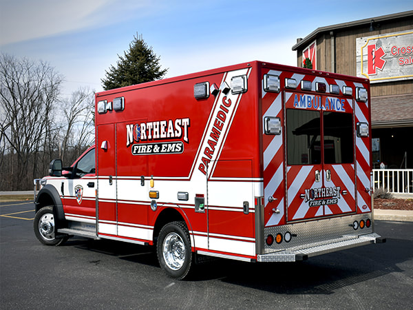 Demers Ambulance Recent Delivery